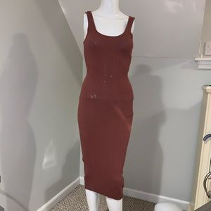 Ripped bodycon dress